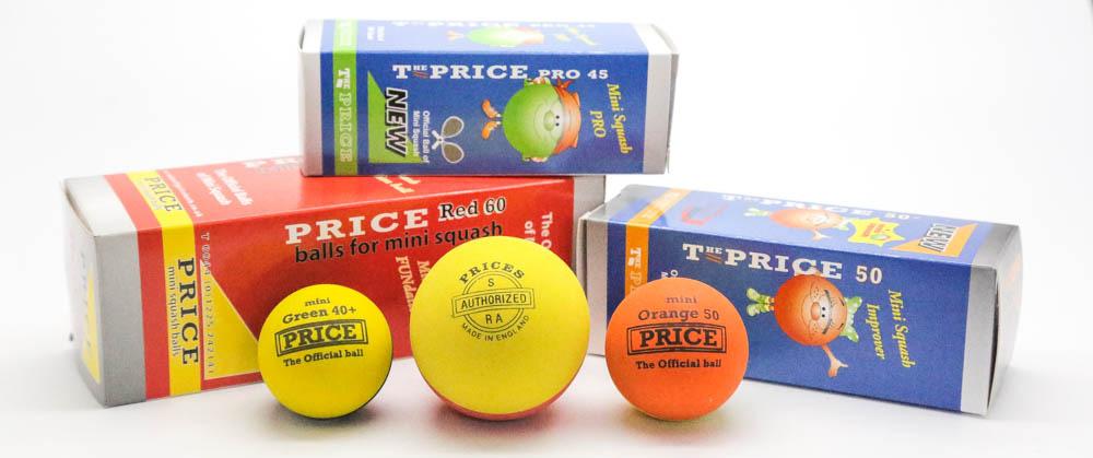 MIni Squash Balls