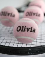 Personalised Tennis Balls Tubed