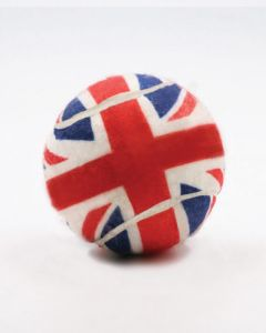 Made in Britain Union Jack All Over Printed Tennis Balls