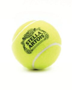 Logo Upload Coloured Tennis Balls