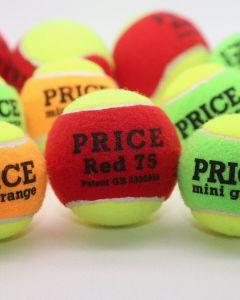 Mini Mixed Tennis Balls