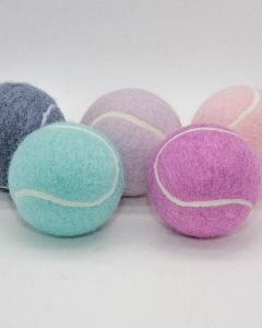 Pastel Coloured Tennis Balls Loose Packed