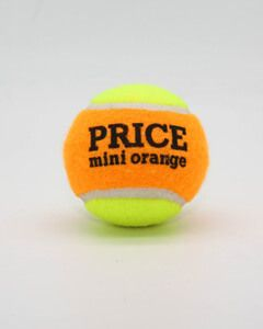Mini Orange Tennis Balls