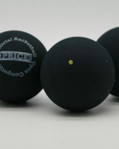 Black Tournament Single Dot Racketball