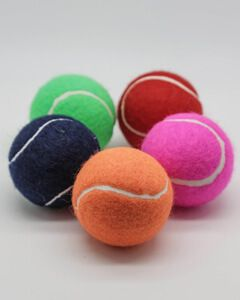Coloured Tennis Balls Loose Packed