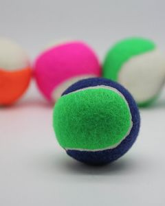 Two Tone Colour Tennis Balls Loose Packed